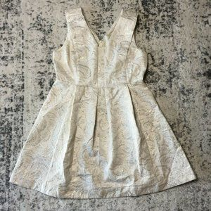 Covington White Social Cocktail Dress MISSY Size 1